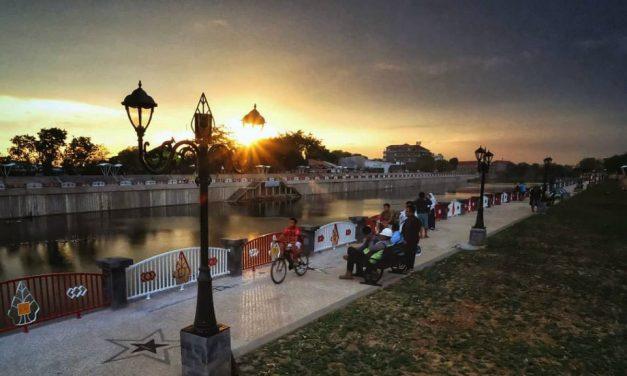 Bendung Karet Tirtonadi: Rupa Sungai Surakarta